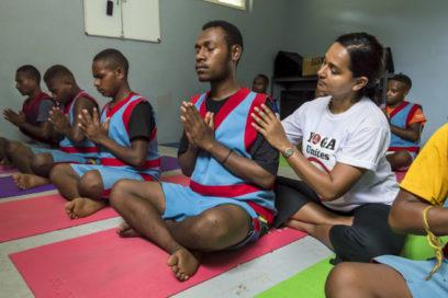 Bomana Prison Yoga Project