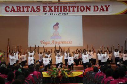 Yoga in Schools Evaluation presented at Caritas Secondary